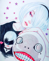 2B - Shin by AmandaDarko