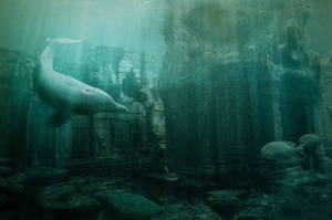 The underwater town population by misha167