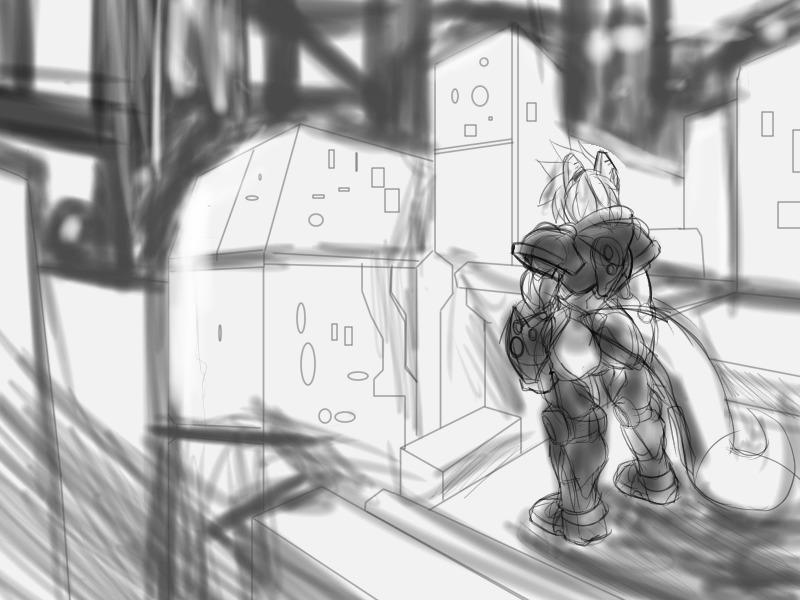 Random Karagu COncept ish sketch by darkzero779