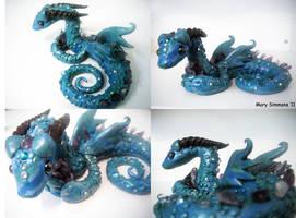 Amethyst Serpant Dragon by MaryBunnie