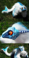 Posable Sea Serpent Detail by MaryBunnie