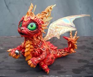 Oriental Dragon by MaryBunnie