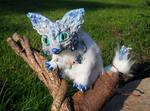 Posable Ice Fox Goddess