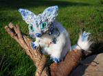 Posable Ice Fox Goddess