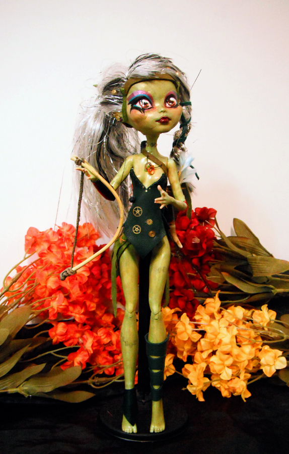 Monster High Custom Pixie by MaryBunnie