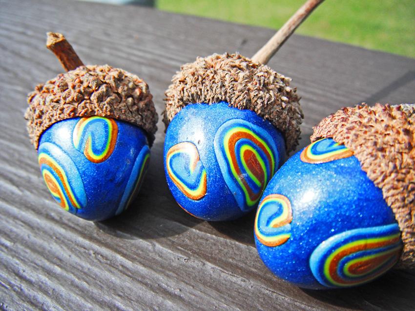 Van Gogh Claycorns by MaryBunnie