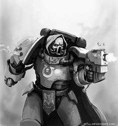Paintchat Space Marine