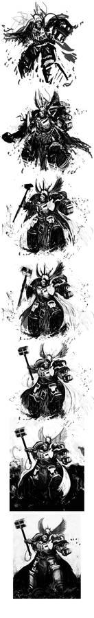 Brother-Captain Cross: Process