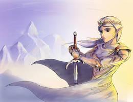 High Elf Sentinel by r7ll