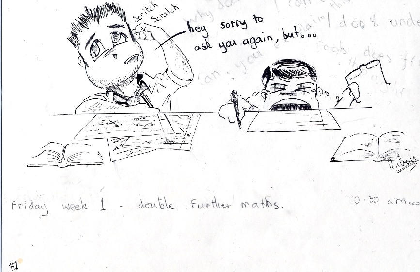 Maths moments 1 by r7ll