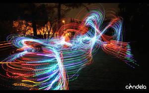 colourshock lightpainting by flu0rgfx