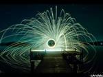 lake of fire lightpainting