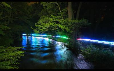 stream of colour