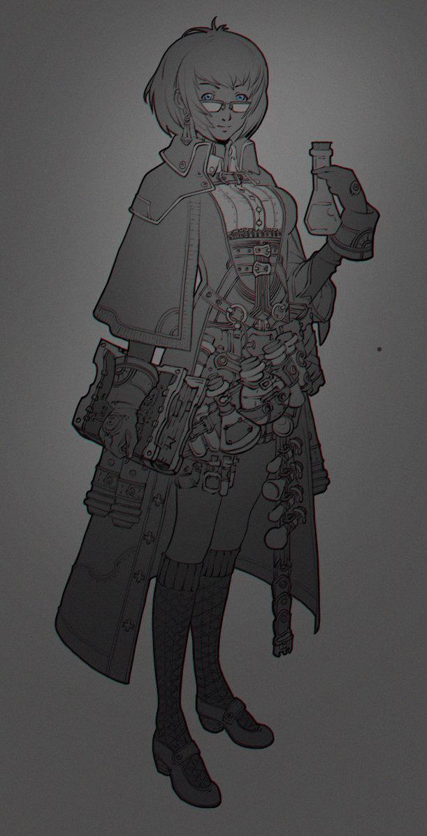 alchemy-girl by Duelisto