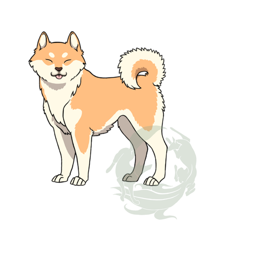 Top Shiba Inu Anime Adorable Dog - akita_inu__japanese_type__by_okami_kitsune88-d4azot0  You Should Have_84968  .png