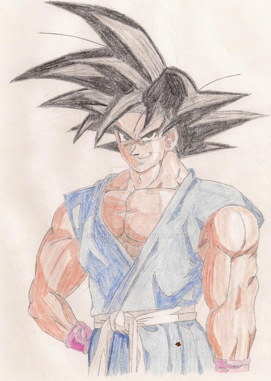 Goku by jamiedl