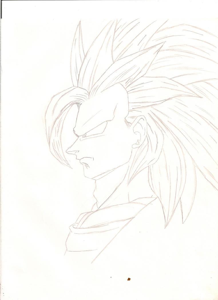 SS3 Goku by jamiedl