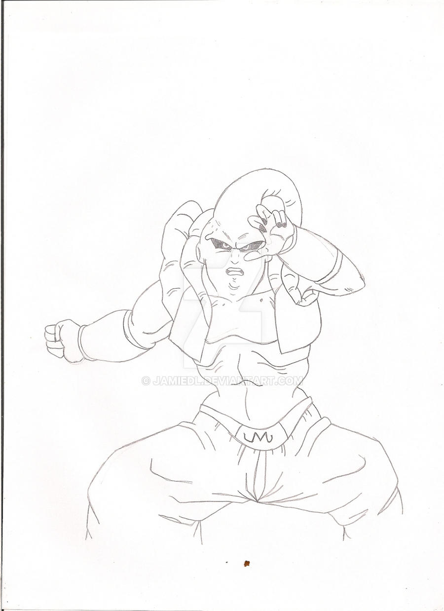 Super Buu by jamiedl