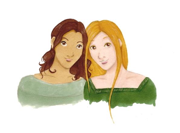 Sisters by DrPie