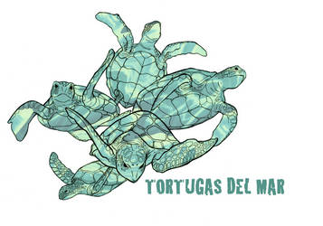 Tortugas del Mar by rainieday91