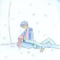Kenichi and Ryoko by rainieday91