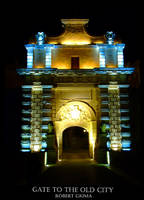 gate to the old city by robertgrima
