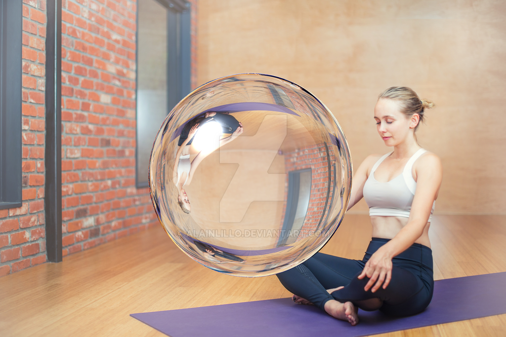 Zen crystal ball by AlainLillo