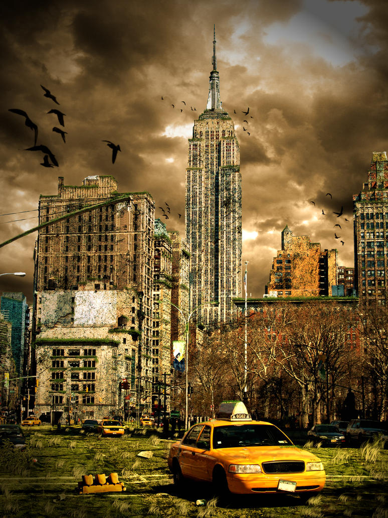 Apocalyptic City by Daxos
