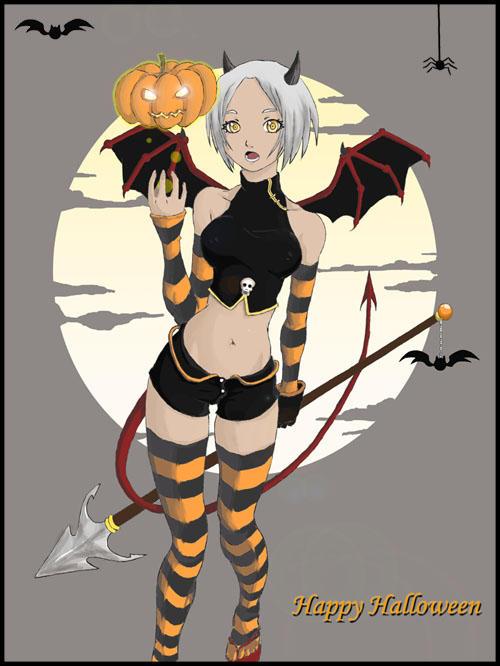 Halloween by Yureka-chan