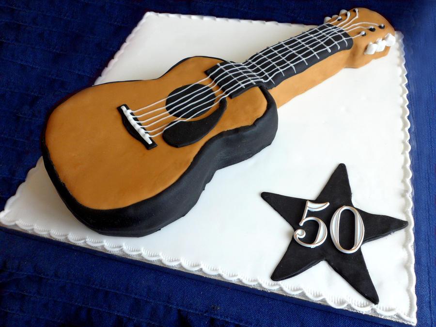 Guitar Cake Template Cake Ideas And Designs