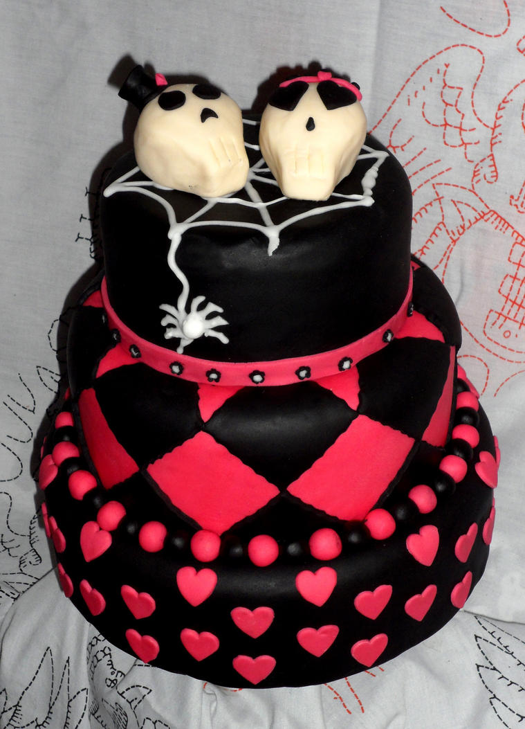 punk rock wedding cakes wedding cake 1 by redrockercakes on deviantart 18844