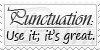 Punctuation by Fxy