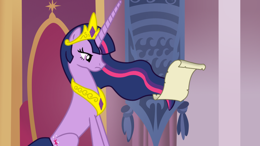 Dear Princess Twilight by DrLonePony