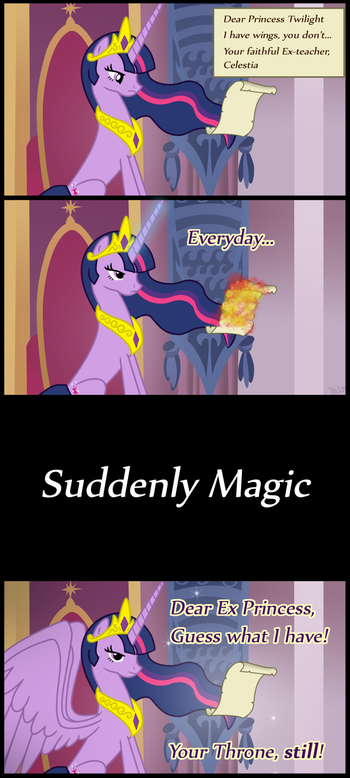 Twilight used usurp... by DrLonePony