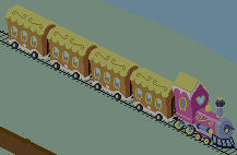 Ponyville Train by DrLonePony