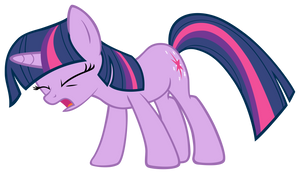 Twilight Sparkle Urghhhhhhhhhh by DrLonePony