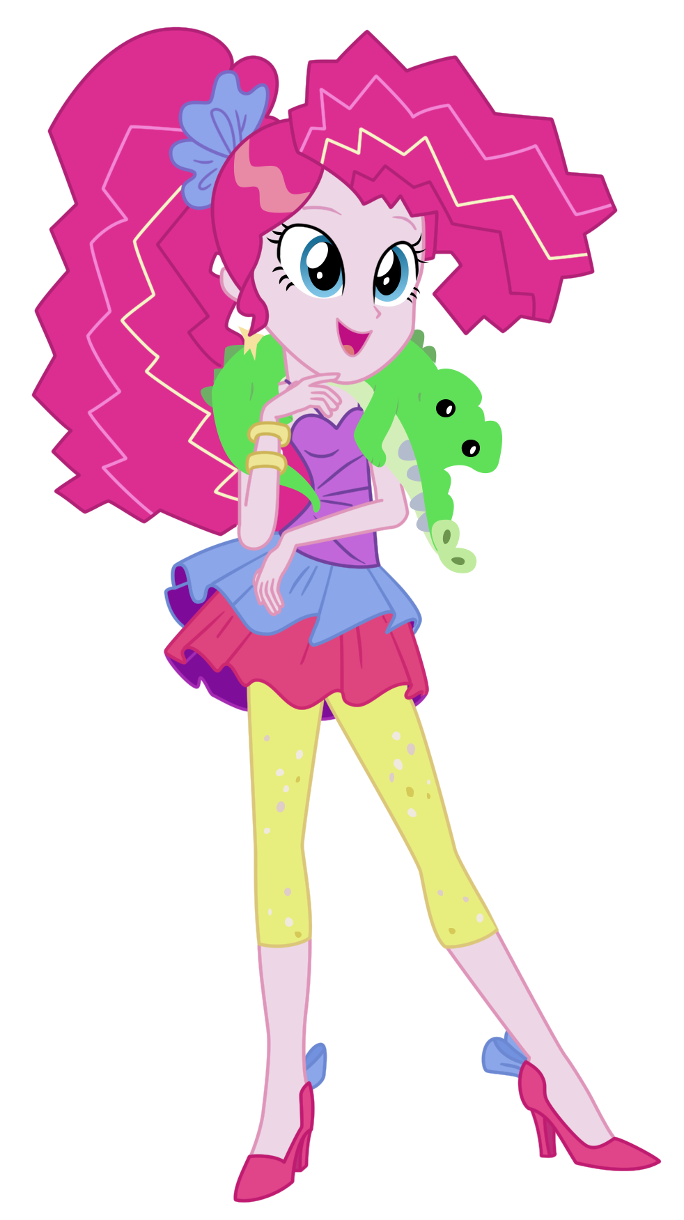 Pinkie Pie Friendship Through the Ages by DrLonePony