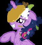 Princess Twilight Pancake by DrLonePony