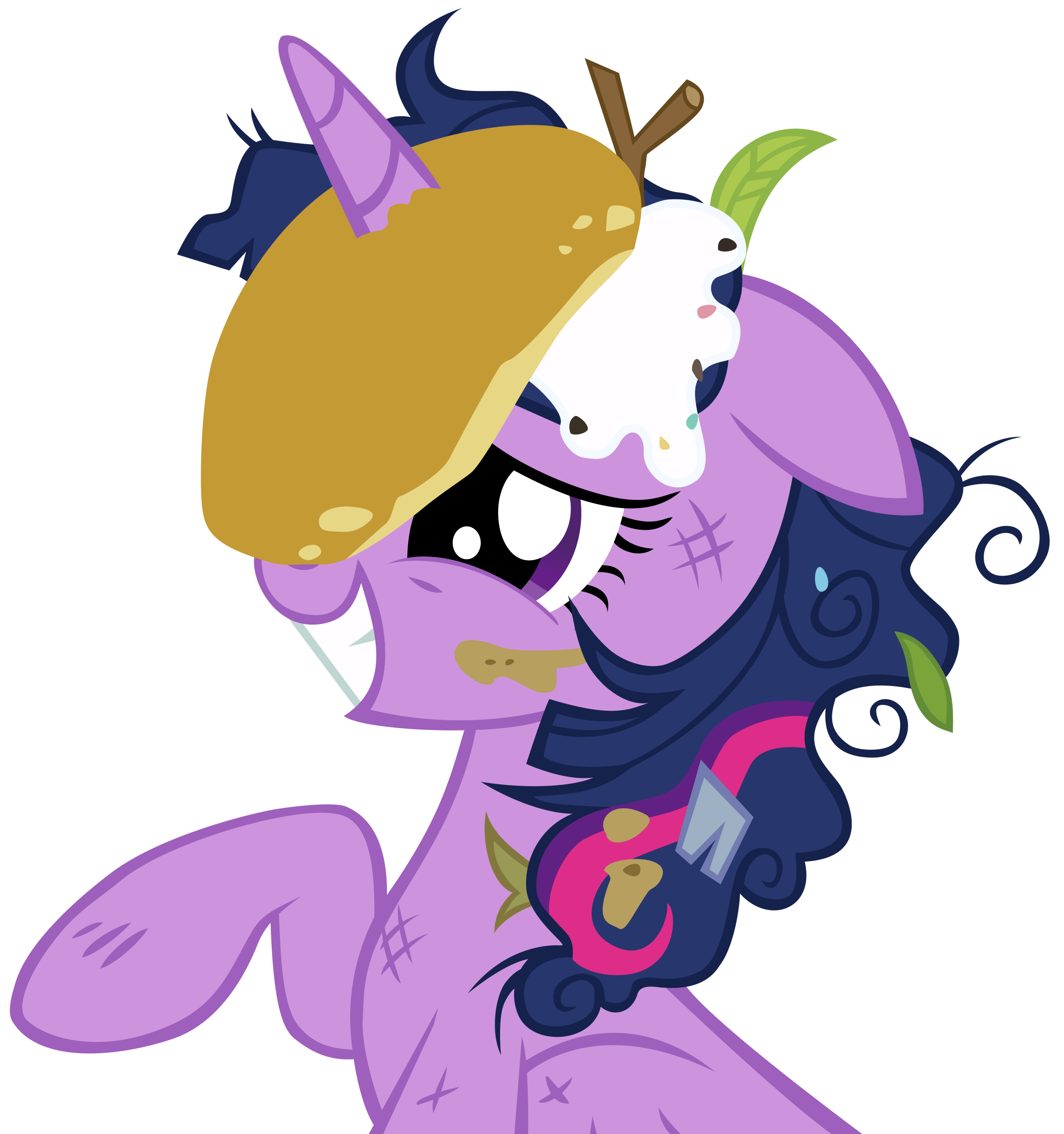Princess Twilight Pancake by DrLonePony