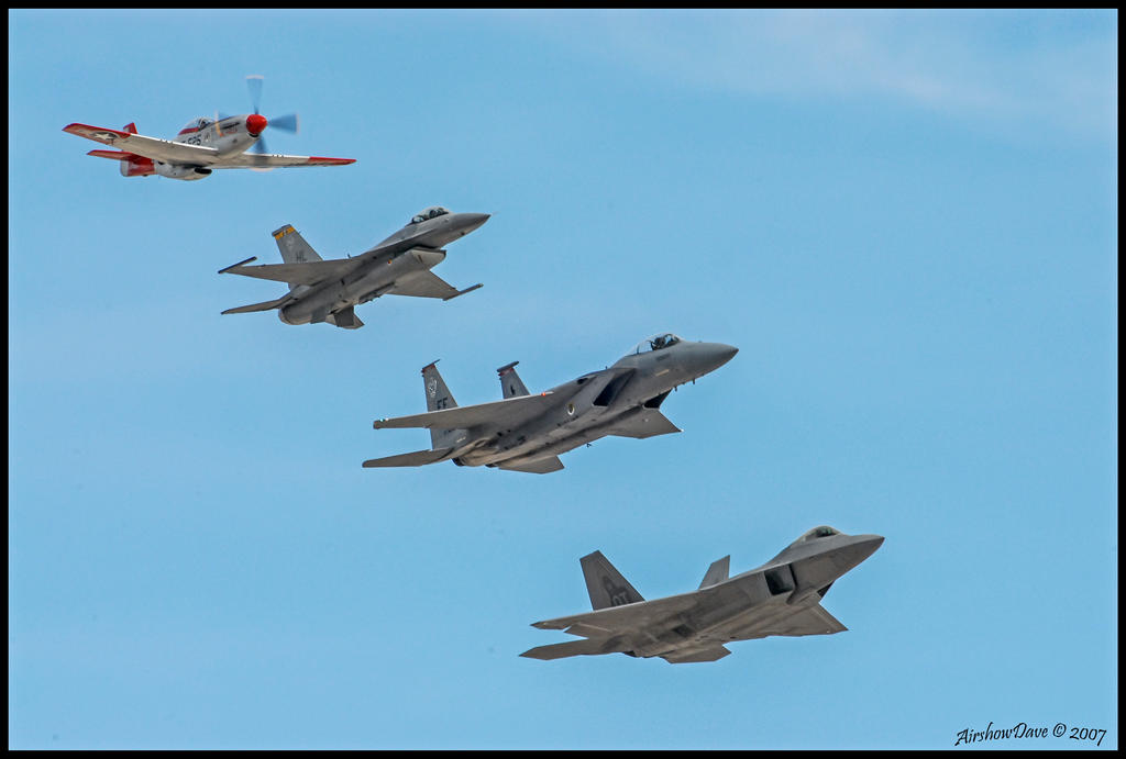 Fighter Sweep 1 by AirshowDave