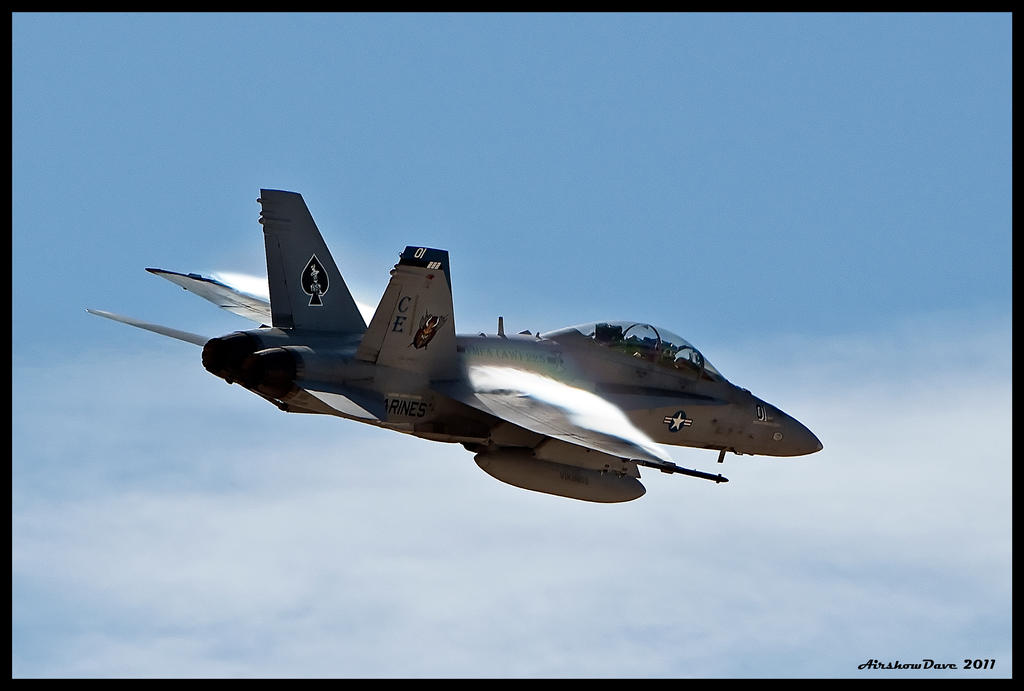 Miramar FA-18D Hornet by AirshowDave