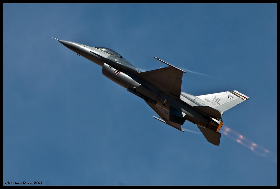 F-16 Burner by AirshowDave