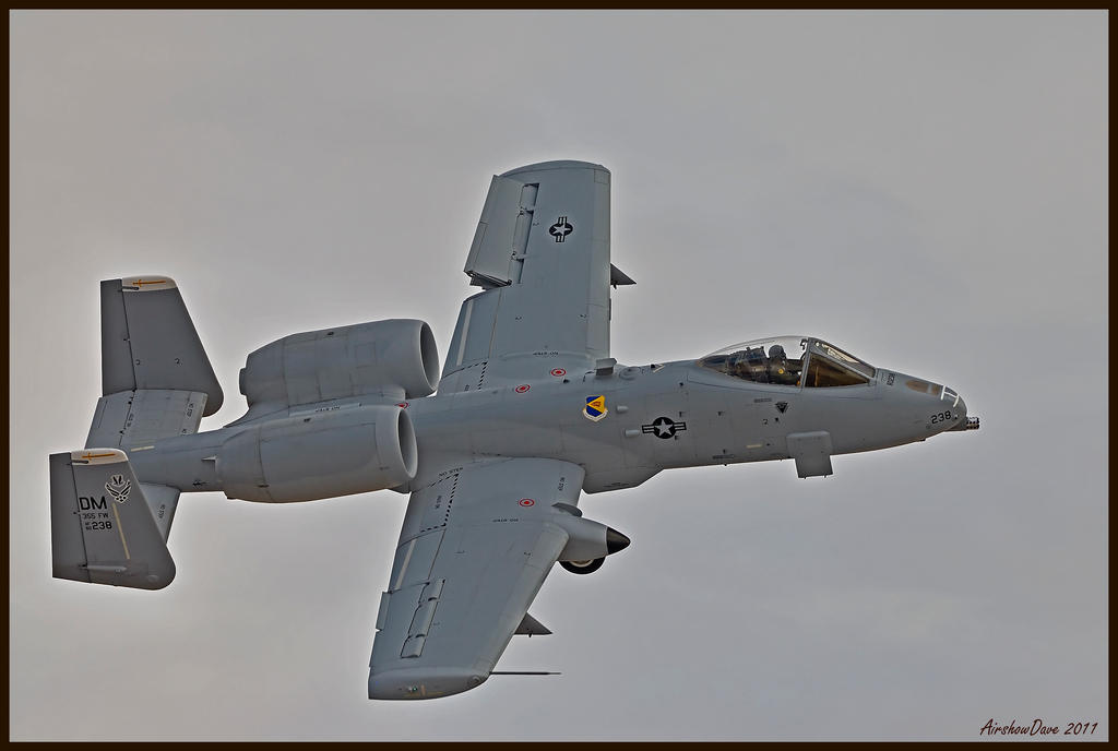 Nellis A-10 by AirshowDave