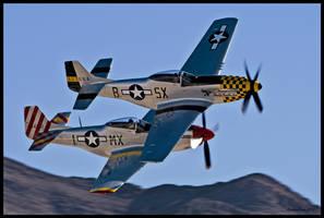 Nellis Horsemen 2 by AirshowDave