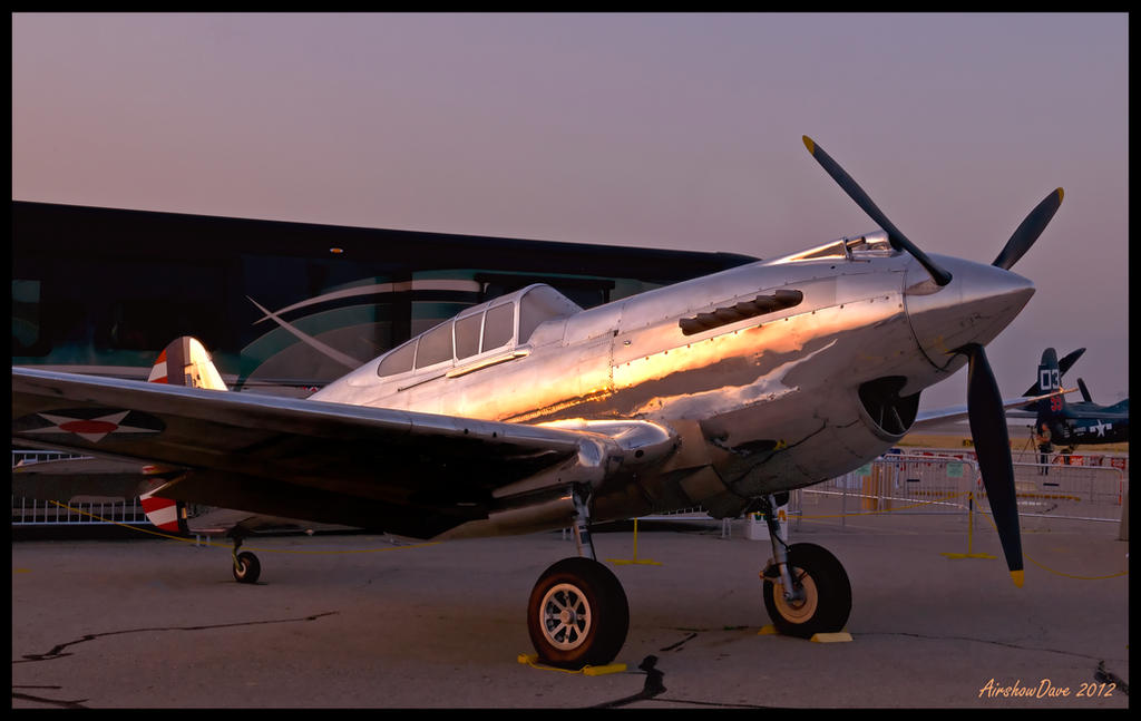 P-40 Sunrise by AirshowDave