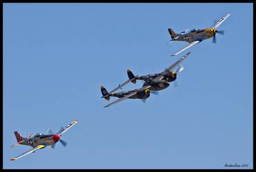 Horsemen 2012 IV by AirshowDave