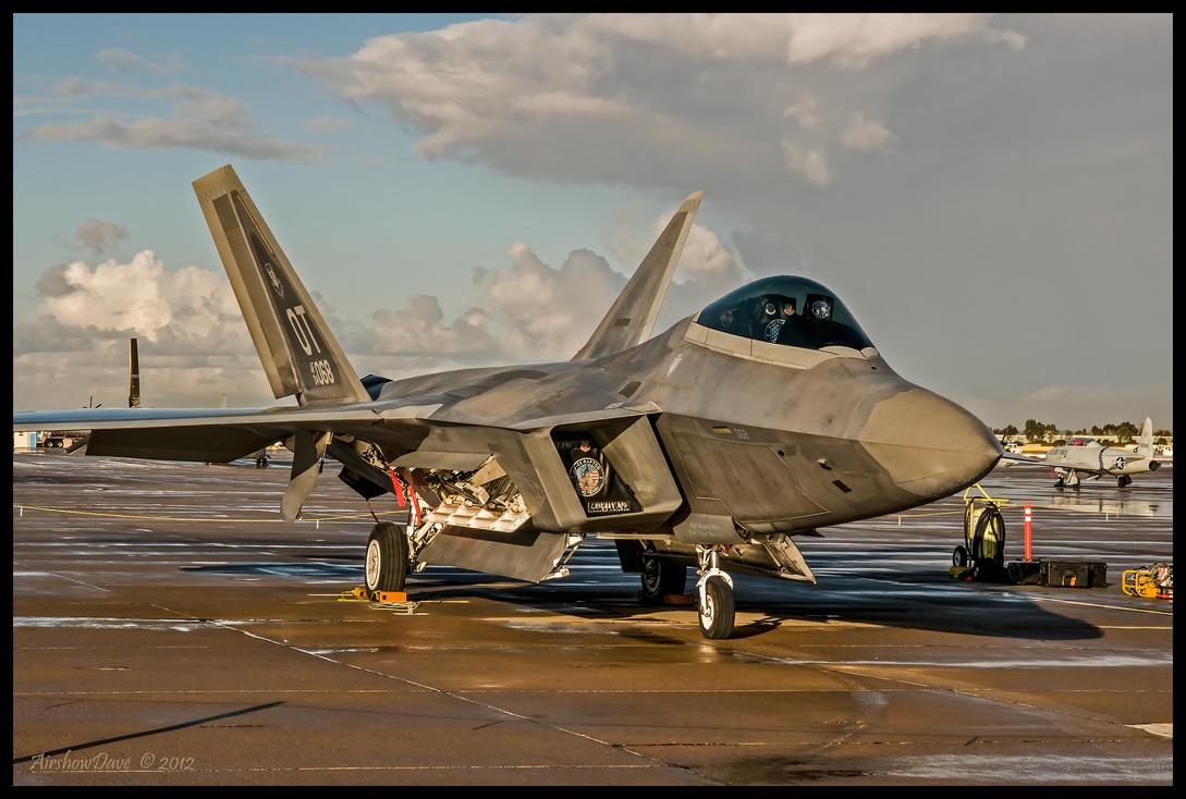 F-22 Raptor Miramar by AirshowDave