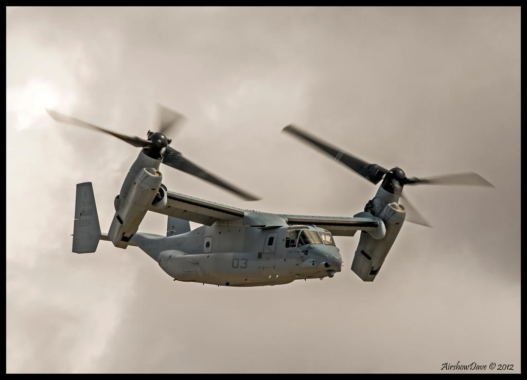 V-22 Osprey Miramar 2012 by AirshowDave