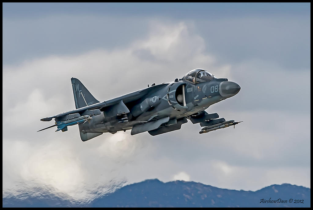 AV-8B Harrier Miramar 2012 by AirshowDave