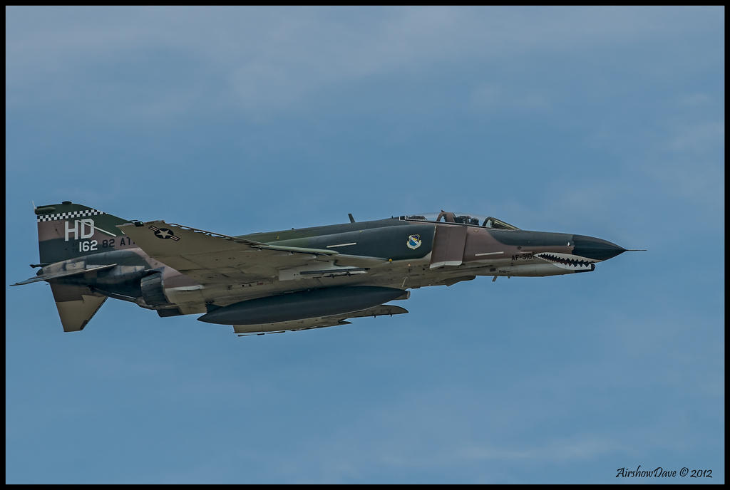 Planes of Fame F-4 2012 by AirshowDave